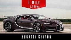 ブガッティ シロンの0-1600m加速を見てみよう