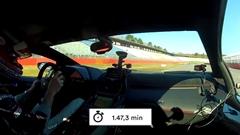 ランボルギーニ アヴェンタドール SVJ ホッケンハイムリンク 1分47秒3 フルオンボード動画