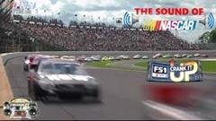 NASCARのマシンが通り過ぎるだけの映像をひたすら見続ける動画