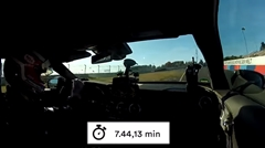 メルセデス AMG C63 S クーペ ニュル7分44秒13 フルオンボード動画