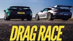 ポルシェ 991 GT2 RS vs マクラーレン 600LT ゼロセン加速対決動画