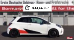 トヨタ ヴィッツ GRMN ニュルブルクリンク 8分44秒66 フルオンボード動画