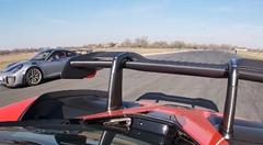 マクラーレン セナ vs ポルシェ 991 GT2 RS ゼロセン加速対決動画