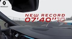 はえー!ルノー メガーヌ R.S. Trophy-R ニュル FWD最速 7分40秒10 フルオンボード動画