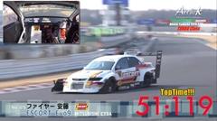 はえー!ファイヤー安藤 ESCORT Evo9 筑波サーキット 51秒119 フルオンボード動画