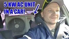 自動車に家庭用エアコン付けたらマジ冷えまくりwwww