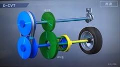 ダイハツの新技術 D-CVT の仕組みがわかる動画
