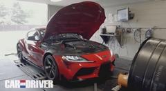 新型トヨタ スープラのパワーをシャシダイで実測してみた