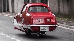1960年代には既に倒れない二輪車があったらしいよ