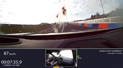 BMW M5 コンペティション ニュル7分35秒90 フルオンボード動画