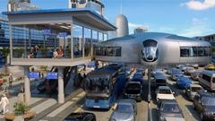 未来の都市交通はジャイロトランスポートが担う!っていう動画