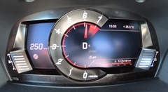 新型トヨタ GRスープラのトップスピードメーター動画