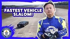 これが世界一のスラローマーだ!50本スラローム 48秒114 ギネス世界記録動画