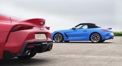 トヨタ スープラ vs BMW Z4 加速対決動画