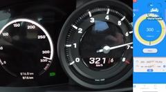 ポルシェ 992 カレラS 最高速度実測スピードメーター動画