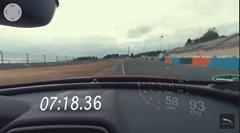 ジャガー XE SV Project 8 ニュル4ドア最速 7分18秒361 360°フルオンボード動画