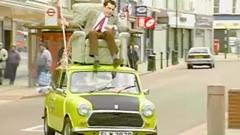 Mr.ビーンの屋根で運転するシーンをリアルでやってみた