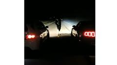 ランエボ vs マスタング ストリートドラッグレース動画