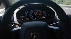 0-320km/h 7秒!超絶速すぎるツインターボランボルギーニ ウラカン オンボード動画