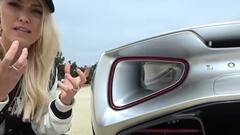 2000馬力のEVハイパーカー ロータス エヴァイアの実車を見てみよう