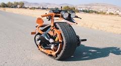 クローラー式オリジナル一輪バイクを作ってみた