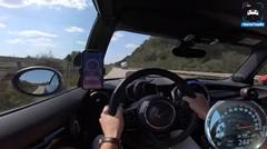 ミニ JCW アウトバーン最高速度実測動画
