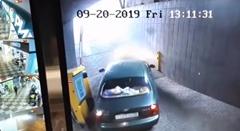 料金所のポールを突っ込んじゃう系事故動画