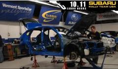 スバルのラリーチームが実際にインプレッサのラリー車を制作する過程がわかる動画