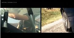 ウクライナの峠を日産 シルビアが華麗にドリフトしちゃう動画 その2