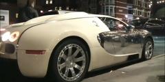 いまいち駐車がうまくいかないブガッティ ヴェイロンの動画