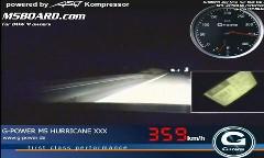 750馬力のG-Power BMW M5 ツーリングがアウトバーンを359km/hで駆け抜けちゃう動画