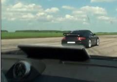 9ff ポルシェ 997 BF2 1000馬力 vs 997 GT2 700馬力の加速勝負動画