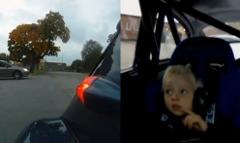 チューンドボルボ PV の加速に男の子も大喜びしちゃう動画
