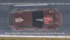 フェラーリ FF の4WDシステムの仕組みがよく分かっちゃう動画