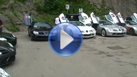 メルセデスベンツ SLR マクラーレン、スターリング モスが集合しちゃった動画