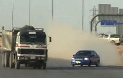 アラブのクレイジーなドリフト野郎の動画