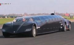 なげー!猫バスもびっくり!スーパーカー+バス=スーパーバスの動画