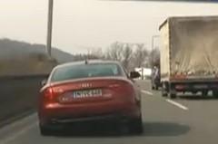 カーブで自ら車体を傾けちゃうアウディの試作車の動画