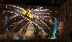 ビルに立体映像を投影しちゃう レクサス CT200h のプロモーション動画