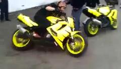 すごっ!自由自在にバイクを操るスタント野郎の動画