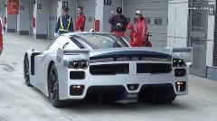 フェラーリサウンドがたまらん!F1 と 599XX と FXX が共演しちゃう動画
