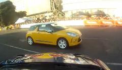 シトロエン DS3 WRC が魅せる迫力のデモ走行オンボード動画