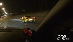 メルセデス・ベンツ SLR マクラーレン vs フェラーリ 458 イタリア vs 日産 GT-R vs ポルシェ 997 ターボ 公道加速対決動画