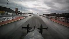 はえー!ゼロヨン4.7秒 終速510km/hのドラッグカーオンボード動画