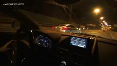 メルセデスベンツ SLR マクラーレン vs アストンマーチン DBS vs フェラーリ 458 イタリア vs ポルシェ 997 ターボ 公道加速対決動画