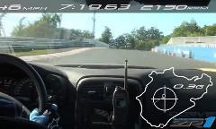シボレー コルベット ZR1 がニュルで7分19秒63を出しちゃう動画