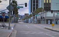 この世の終わり?車がまったく走っていないロサンゼルスの動画