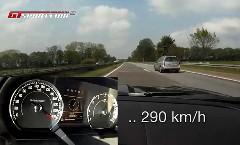 ジャガー XKR クーペがアウトバーンで290km/h出しちゃう動画