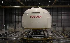 すげー!トヨタの巨大ドライビングシミュレーターの動画