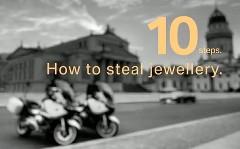 BMW がコンセプトカーで宝石の盗み方を教えてくれちゃう動画